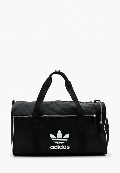 Купить Сумка спортивная adidas Originals - цвет: черный, Индонезия, AD093BUALQU8