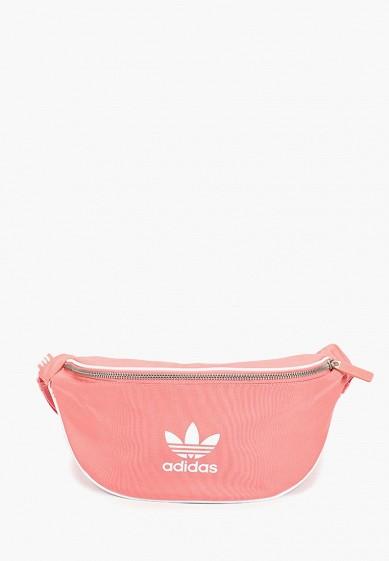 Купить Сумка поясная adidas Originals - цвет: розовый, Индонезия, AD093BUCCYZ6