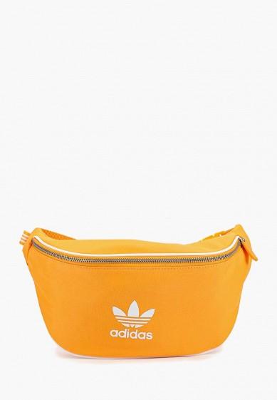 Купить Сумка поясная adidas Originals - цвет: желтый, Индонезия, AD093BUCCYZ7