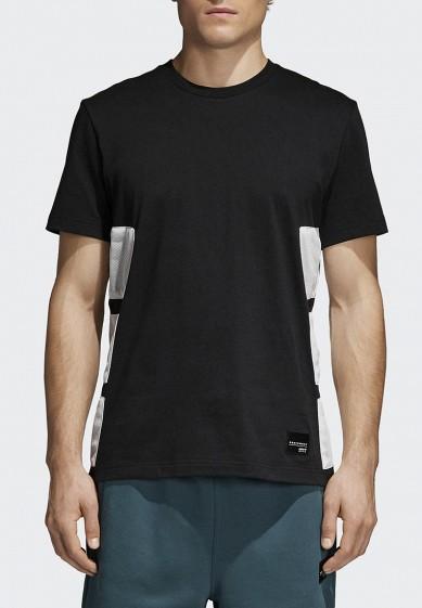 Купить Футболка adidas Originals - цвет: черный, Китай, AD093EMALOD9