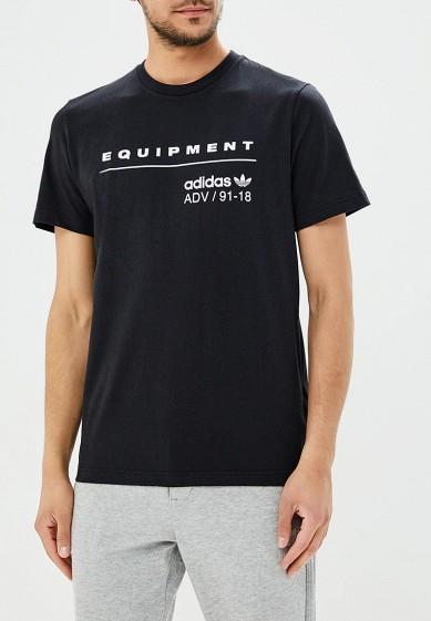 Купить Футболка спортивная adidas Originals - цвет: черный, Камбоджа, AD093EMALOF8