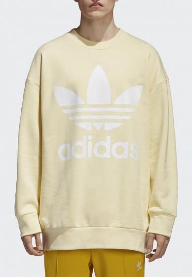 Купить Свитшот adidas Originals - цвет: желтый, Китай, AD093EMALOI1