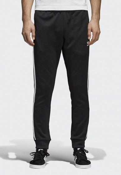Купить Брюки спортивные adidas Originals - цвет: черный, Пакистан, AD093EMALOJ7