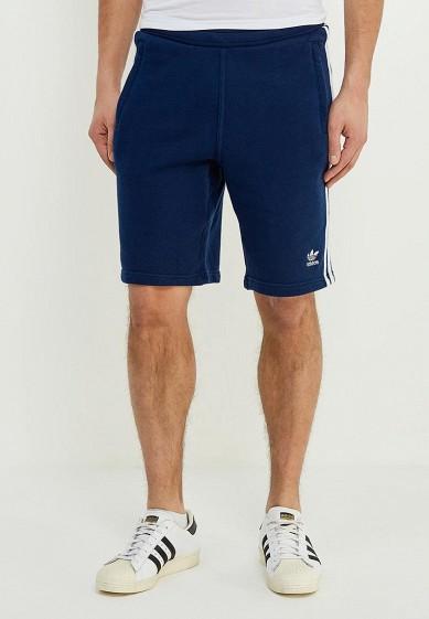 Купить Шорты спортивные adidas Originals - цвет: синий, Пакистан, AD093EMALOL3
