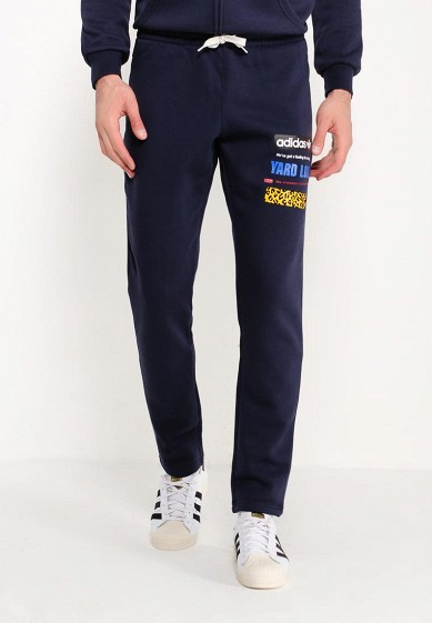 Купить Брюки спортивные adidas Originals - цвет: синий, Китай, AD093EMUNN50