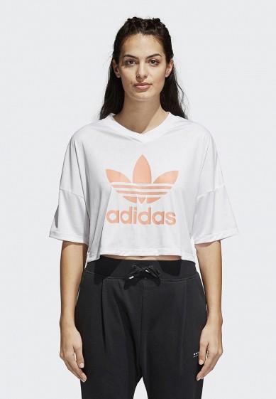 Купить Футболка спортивная adidas Originals - цвет: белый, Камбоджа, AD093EWALON4