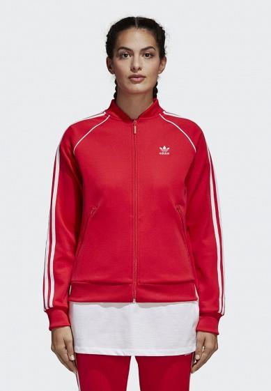 Купить Олимпийка adidas Originals - цвет: красный, Вьетнам, AD093EWALOP3