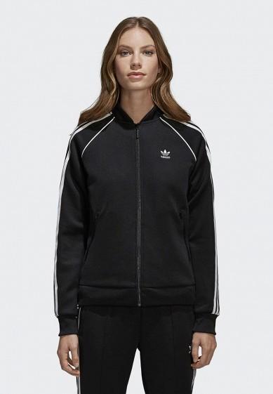 Купить Олимпийка adidas Originals - цвет: черный, Вьетнам, AD093EWALOW0