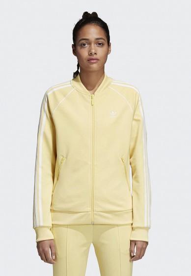 Купить Олимпийка adidas Originals - цвет: желтый, Вьетнам, AD093EWALOW3