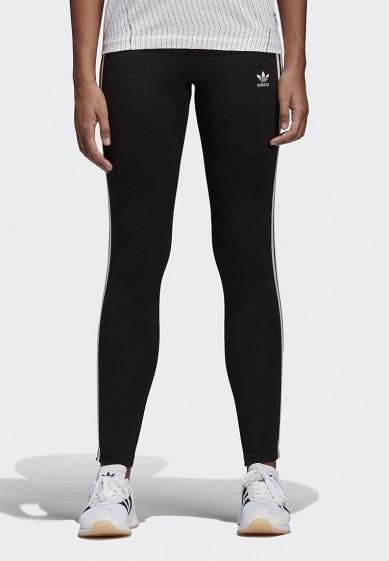 Купить Леггинсы adidas Originals - цвет: черный, Пакистан, AD093EWALOX8
