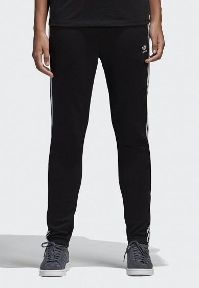 Купить Брюки спортивные adidas Originals - цвет: черный, Пакистан, AD093EWALOZ8