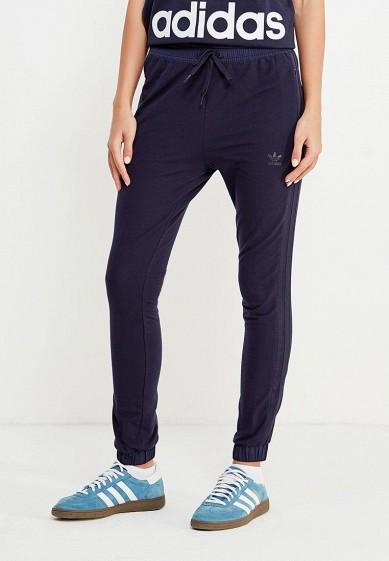 Купить Брюки спортивные adidas Originals - цвет: синий, Китай, AD093EWUNP63