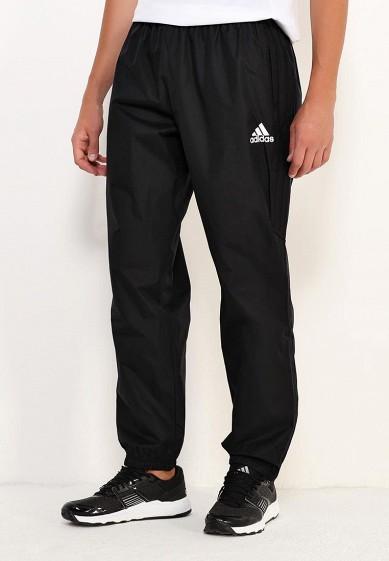 Купить Брюки спортивные adidas - цвет: черный, Вьетнам, AD094EMUOC28