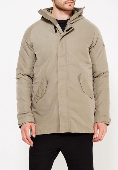 Купить Куртка утепленная adidas - цвет: хаки, Китай, AD094EMUOD22