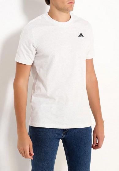 Купить Футболка adidas - цвет: белый, Индонезия, AD094EMUOE29