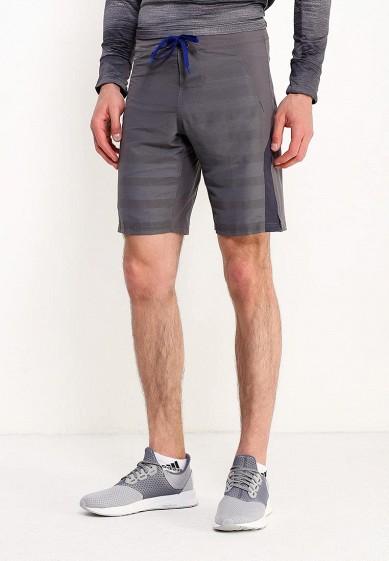 Купить Шорты спортивные adidas - цвет: серый, Вьетнам, AD094EMUOF42