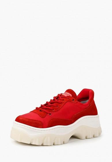 Купить Кроссовки Bronx - цвет: красный, Италия, BR336AWBWUE7