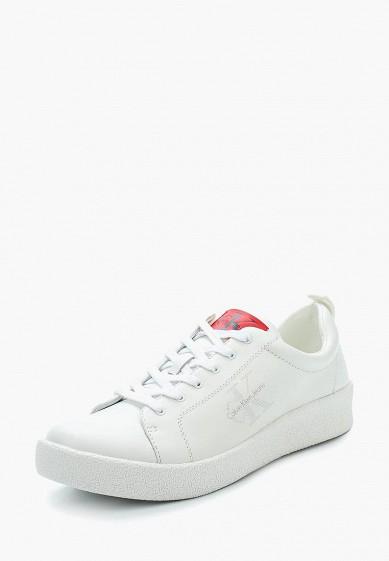 Купить Кеды Calvin Klein Jeans - цвет: белый, Камбоджа, CA939AMAPPU4