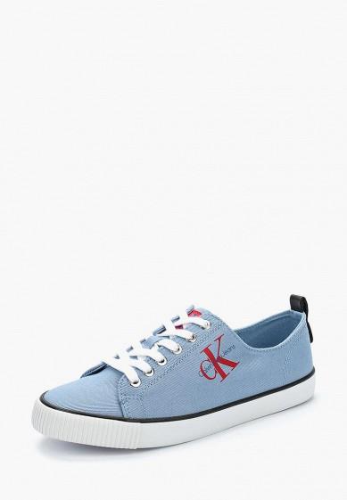 Купить Кеды Calvin Klein Jeans - цвет: синий, Китай, CA939AWAPPZ5