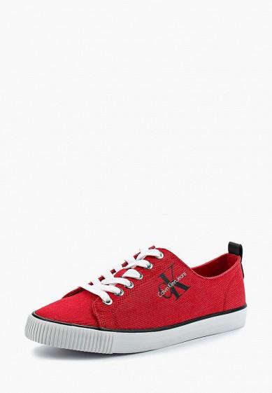 Купить Кеды Calvin Klein Jeans - цвет: красный, Китай, CA939AWAPPZ6
