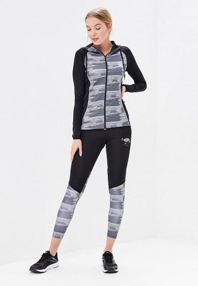 Купить Костюм спортивный Dali - цвет: серый, черный, Россия, DA002EWBJQI4