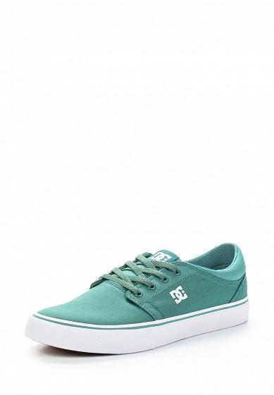Купить Кеды DC Shoes - цвет: зеленый, Вьетнам, DC329AMAKBK6