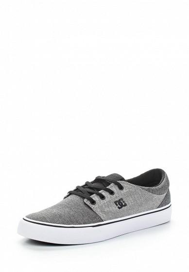 Купить Кеды DC Shoes - цвет: серый, Вьетнам, DC329AMAKBL0