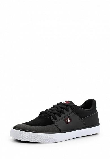 Купить Кеды DC Shoes - цвет: черный Китай DC329AMAKBL3