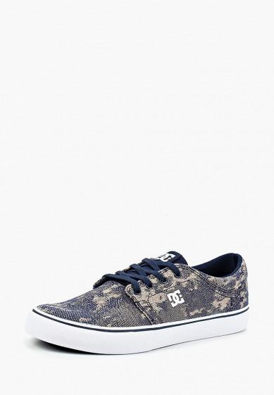 Купить Кеды DC Shoes - цвет: синий, Вьетнам, DC329AMCFET7