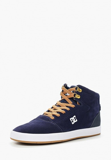 Купить Кеды DC Shoes - цвет: синий, Вьетнам, DC329AMVNU80