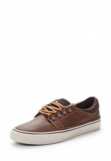 Купить Кеды DC Shoes - цвет: коричневый, Вьетнам, DC329AMVNV02