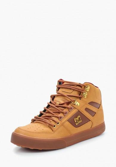 Купить Кеды DC Shoes - цвет: коричневый, Вьетнам, DC329AMVNV15