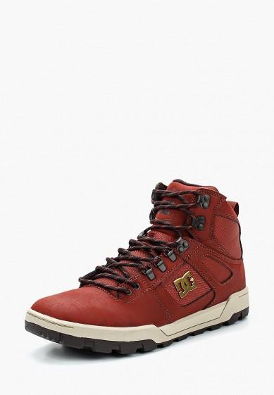 Купить Кеды DC Shoes - цвет: бордовый, Китай, DC329AMZDX32