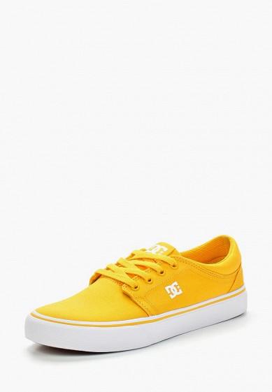 Купить Кеды DC Shoes - цвет: желтый, Вьетнам, DC329AUAKBK8
