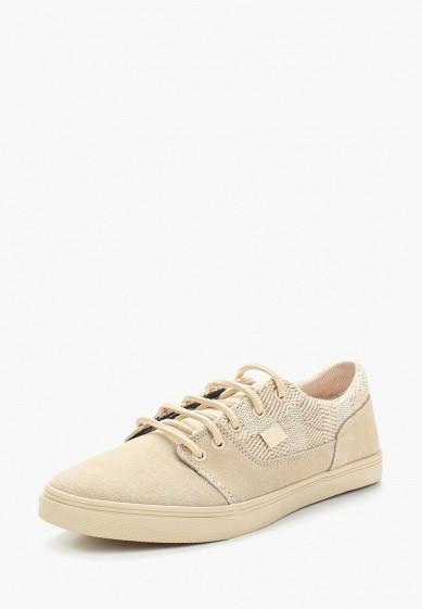 Купить Кеды DC Shoes - цвет: бежевый, Китай, DC329AWAKBO4