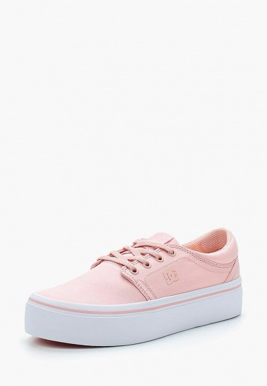 Купить Кеды DC Shoes - цвет: розовый, Вьетнам, DC329AWAKBO5