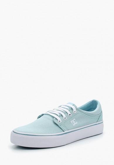 Купить Кеды DC Shoes - цвет: голубой, Китай, DC329AWAKBO8