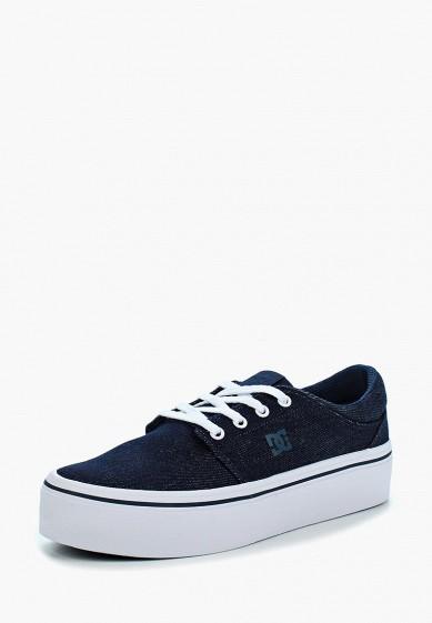 Купить Кеды DC Shoes - цвет: синий, Вьетнам, DC329AWBNSI5