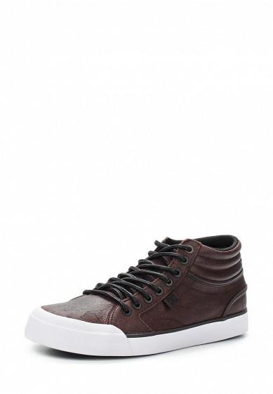 Купить Кеды DC Shoes - цвет: коричневый, Китай, DC329AWVNV25