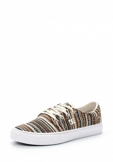 Купить Кеды DC Shoes - цвет: коричневый, Вьетнам, DC329AWVNW36