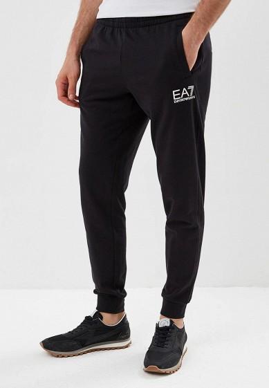 Купить Брюки спортивные EA7 - цвет: черный, Камбоджа, EA002EMBNZO5