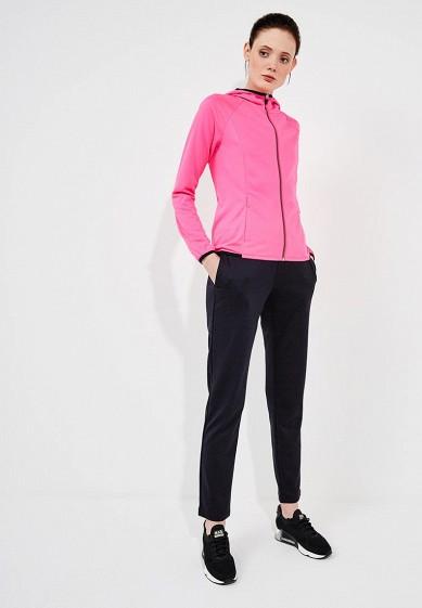 Купить Костюм спортивный EA7 - цвет: розовый, черный, Китай, EA002EWZUH42