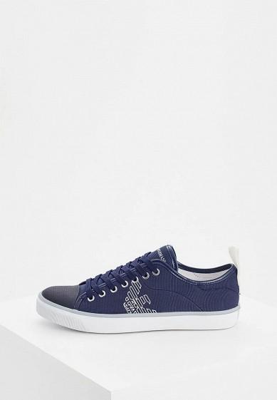 Купить Кеды Emporio Armani - цвет: синий, Индонезия, EM598AWZVZ46