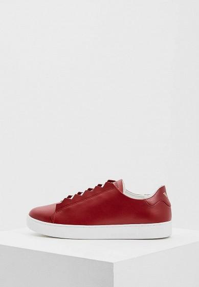 Купить Кеды Emporio Armani - цвет: красный, Вьетнам, EM598AWZVZ51