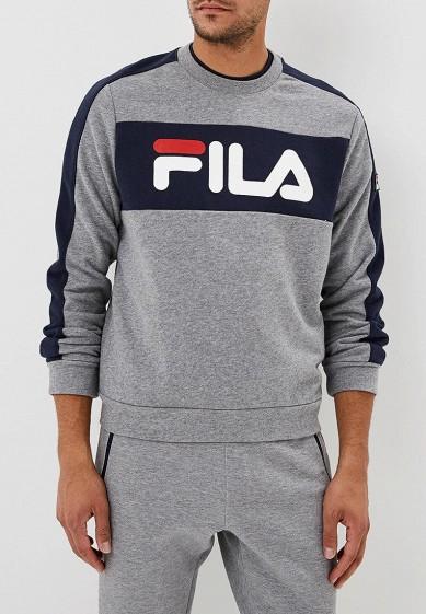 Купить Свитшот Fila - цвет: серый, Китай, FI030EMCPRA4