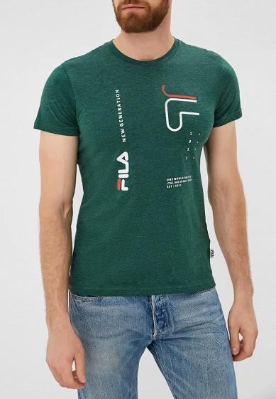Купить Футболка Fila - цвет: зеленый, Бангладеш, FI030EMCPRD3