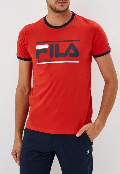 Купить Футболка спортивная Fila - цвет: красный, Бангладеш, FI030EMCPRD8