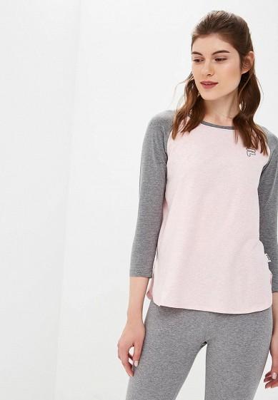 Купить Лонгслив Fila - цвет: розовый, Бангладеш, FI030EWCPRH5