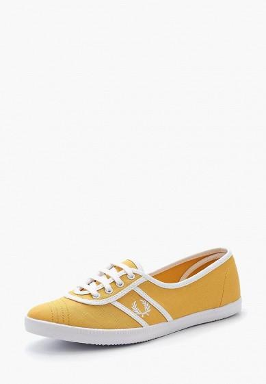 Купить Кеды Fred Perry - цвет: желтый, Китай, FR006AWZZX04