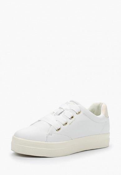Купить Кеды Gant - цвет: белый, Вьетнам, GA121AWADLB9